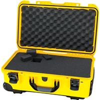 Image of Nanuk Wheeled Series 935 Lightweight NK-7 Resin Waterproof Protective Case with Foam for DSLR Camera, 3 Lenses, Flash, Yellow