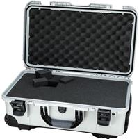 Image of Nanuk Wheeled Series 935 Lightweight NK-7 Resin Waterproof Protective Case with Foam for DSLR Camera, 3 Lenses, Flash, Silver