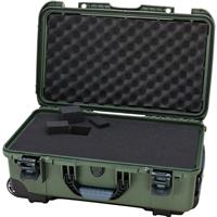 Image of Nanuk Wheeled Series 935 Lightweight NK-7 Resin Waterproof Protective Case with Foam for DSLR Camera, 3 Lenses, Flash, Olive