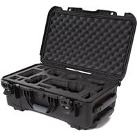 Image of Nanuk Media Series 935 Wheeled Lightweight NK-7 Resin Hard Case with Foam Insert for Sony A7R, Black