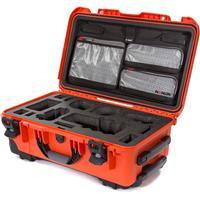 Image of Nanuk Media Series 935 Wheeled Lightweight NK-7 Resin Hard Case with Foam Insert for Sony A7R, Orange