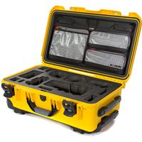 Image of Nanuk Media Series 935 Wheeled Lightweight NK-7 Resin Hard Case with Foam Insert for Sony A7R, Yellow