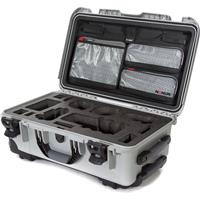 Image of Nanuk Media Series 935 Wheeled Lightweight NK-7 Resin Hard Case with Foam Insert for Sony A7R, Silver