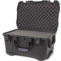 Image of Nanuk Wheeled Series 938 Lightweight NK-7 Resin Waterproof Hard Case with Foam Insert, Black