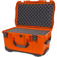 Image of Nanuk Wheeled Series 938 Lightweight NK-7 Resin Waterproof Hard Case with Foam Insert, Orange