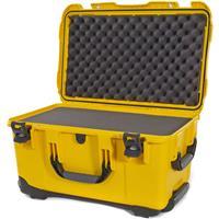 Image of Nanuk Wheeled Series 938 Lightweight NK-7 Resin Waterproof Hard Case with Foam Insert, Yellow