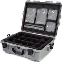 Compare Prices Of  Nanuk Large Series 945 Lightweight NK-7 Resin Waterproof Hard Case with Dividers and Lid Organizer, Silver
