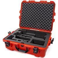 Image of Nanuk Media Series 945 Lightweight NK-7 Resin Waterproof Hard Case with Foam Insert for Zhiyun Crane 3 Lab, Orange