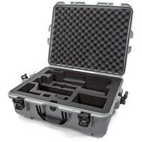 Image of Nanuk Media Series 945 Lightweight NK-7 Resin Waterproof Hard Case with Foam Insert for Zhiyun Crane 3 Lab, Silver
