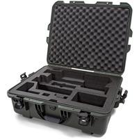 Image of Nanuk Media Series 945 Lightweight NK-7 Resin Waterproof Hard Case with Foam Insert for Zhiyun Crane 3 Lab, Olive