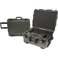 Image of Nanuk 950 Lightweight NK-7 Resin Waterproof Case with Foam Insert for DJI Ronin-M Handheld Gimbal Stabilizer, Olive