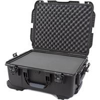 Image of Nanuk Wheeled Series 955 Lightweight NK-7 Resin Waterproof Hard Case with Foam Insert, Black