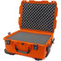 Image of Nanuk Wheeled Series 955 Lightweight NK-7 Resin Waterproof Hard Case with Foam Insert, Orange