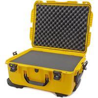 Image of Nanuk Wheeled Series 955 Lightweight NK-7 Resin Waterproof Hard Case with Foam Insert, Yellow