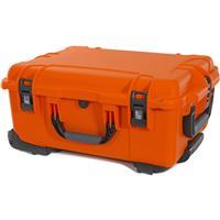 Image of Nanuk Wheeled Series 955 Lightweight NK-7 Resin Waterproof Hard Case with Lid Organizer and Padded Divider, Orange