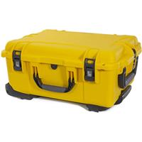 Image of Nanuk Wheeled Series 955 Lightweight NK-7 Resin Waterproof Hard Case with Lid Organizer and Padded Divider, Yellow