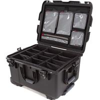 Compare Prices Of  Nanuk Wheeled Series 960 Lightweight NK-7 Resin Waterproof Hard Case with Padded Dividers and Lid Organizer, Black