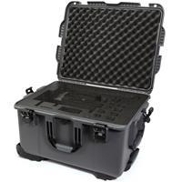 Image of Nanuk 960 Waterproof Hard Case with Wheels for DJI Ronin-MX, Graphite