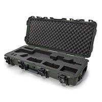 Image of Nanuk Firearms Series 985 AR15 Lightweight NK-7 Resin Waterproof Hard Case with Foam Insert, Olive