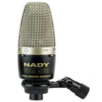 Image of Nady SCM-960 Cardioid & Omni Large Diaphragm Studio Condenser Microphone