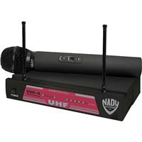 Image of Nady UHF-4 Handheld UHF Wireless Microphone System, Includes UHF-4 Receiver, UH-4 Handheld Transmitter, 2 Antennas, Power Supply, Group 11