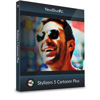 Image of NewBlueFX Cartoonr Plus Comic-Book Looks Video Effects Software Plug-In, Electronic Download