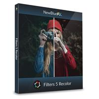 Compare Prices Of  NewBlueFX Filters 5 Recolor Software Plug-In, Electronic Download