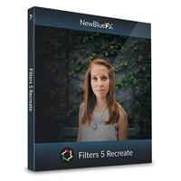 Image of NewBlueFX Filters 5 Recreate Software Plug-In, Electronic Download