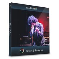 Image of NewBlueFX Filters 5 Refocus Software Plug-In, Electronic Download