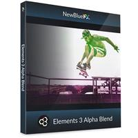 Image of NewBlueFX Elements 3 Alpha Blend, Electronic Download