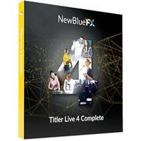 Image of NewBlueFX Titler Live 4 Complete - Electronic Download