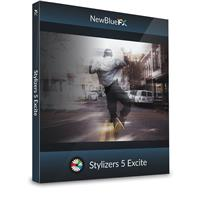 Compare Prices Of  NewBlueFX Stylizers 5 Excite Energetic Motion Effects Software Plug-In, Electronic Download