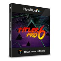 Image of NewBlueFX Titler Pro 6 Ultimate 3D Video Title Design Software Plug-In, 430+ Templates, After Effects Importer, Electronic Download