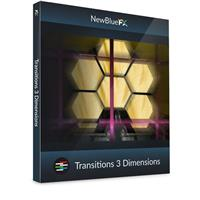 Image of NewBlueFX Transitions 5 Dimensions Software Plug-In, Electronic Download
