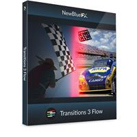 Image of NewBlueFX Transitions 5 Flow Software Plug-In, Electronic Download