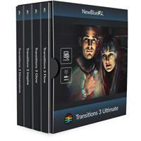 Image of NewBlueFX Transitions 5 Ultimate Software Plug-In, Includes Transitions 5 Flow, Transitions 5 Dimensions, Transitions 5 Glow, Transitions 5 Inspire, Electronic Download