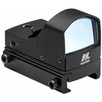 Image of NcSTAR Micro Green Dot Reflex Optic with Integrated Weaver/Picatinny Mount, 23.5x16.8mm Objective