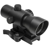 Image of NcSTAR 1x32mm Mark III Tactical Standard Reflex Scope with Illuminated 3MOA Red Dot Reticle, Picatinny Mount, Black