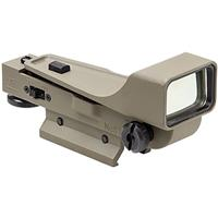 Image of NcSTAR DP Series Gen 2 Red Dot Reflex Optic with 24.0x34.0mm Objective, Integrated Picatinny Mount, Tan Aluminum Body