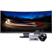 """Compare Prices Of  NEC MultiSync EX341R 34"""" Ultrawide Curved LED Monitor with SpectraView II Software USB and Spyder5 Color Calibration Sensor"""