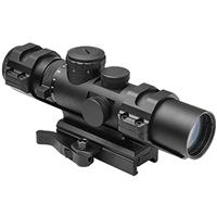 Compare Prices Of  NcSTAR 2-7x32 XRS Series Riflescope, Matte Black with Blue Illuminated Mil-Dot Reticle, 34mm Tube Diameter, Quick Release Mount