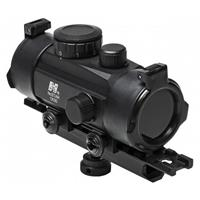Image of NcSTAR 1x30 Tube Reflex Optic with Carry Handle Adapter Combo, 3 MOA Red Dot Reticle, 30mm Tube Diameter, Integrated Mount