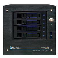 Image of NewTek NRSD Remote Storage Powered by SNS 4-Bay Desktop/24TB with 2x 1 GbE Ports