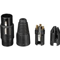 Compare Prices Of  Neutrik NC3FX-B 3-Pole XLR Female Cable Connector, Black Housing, Gold Contacts