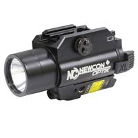 Image of Newcon Optik NCFL 9 Compact Weapons IR Aiming Laser with Visible White Light LED Illuminator