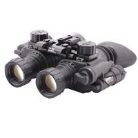 Image of Newcon Optik 1x Gen 3 Dual Tube Autogated Night Vision Binocular, 25mm Eye Relief, 64 lp/mm Resolution, Manual Gain Control, Built in I/R, Waterproof