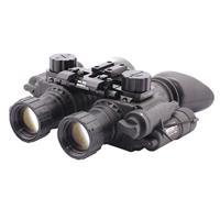 Image of Newcon Optik 1x Gen 3 Dual Tube Night Vision Binocular, 25mm Eye Relief, 64 lp/mm Resolution, Manual Gain Control, Built in I/R, Waterproof