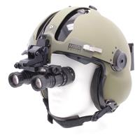 Image of Newcon Optik NVS 9-3AG Autogated 1x25 Dual Tube Aviator Goggles, 27mm f/1.23 Objective Lens, 40 deg. Field of View, 0.25 -Infinity Focus Range