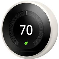 Image of Google Nest Learning Thermostat, 3rd Generation, White
