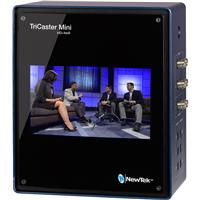 Image of NewTek TriCaster Mini Advanced HD-4 Education Bundle with TriCaster Mini Control Surface, Custom Travel Case and Educational Curriculum on A Thumb Drive